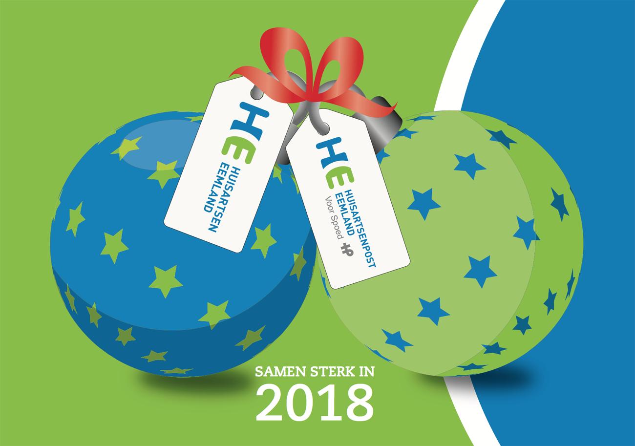Huisartsen Eemland | kerstkaat 2018