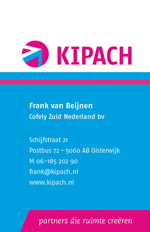 KIPACH | visitekaart voorzijde