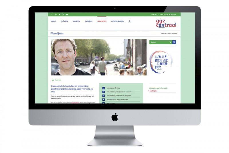 GGz Centraal website