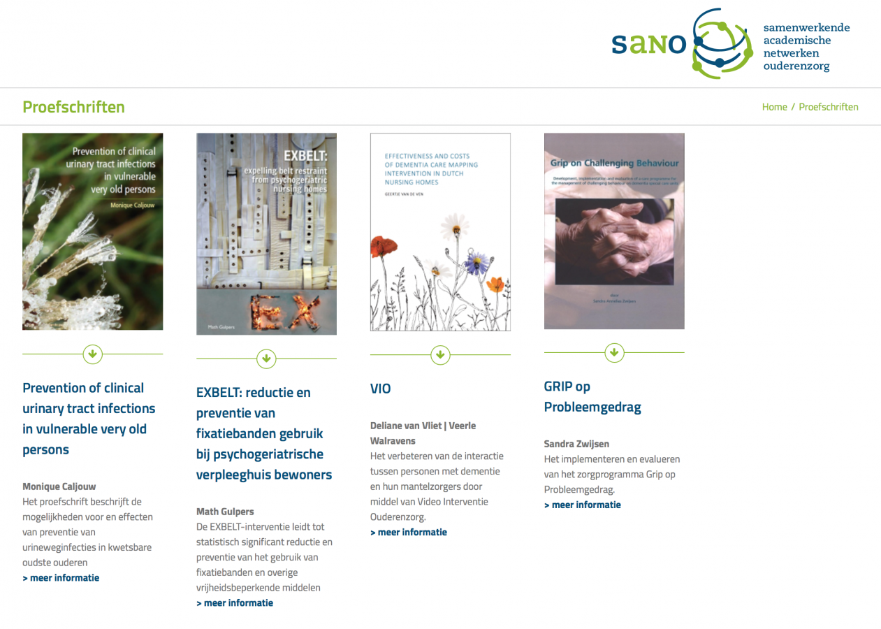 SANO | website
